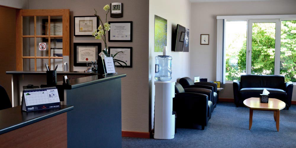 Applecross Dental's waiting area